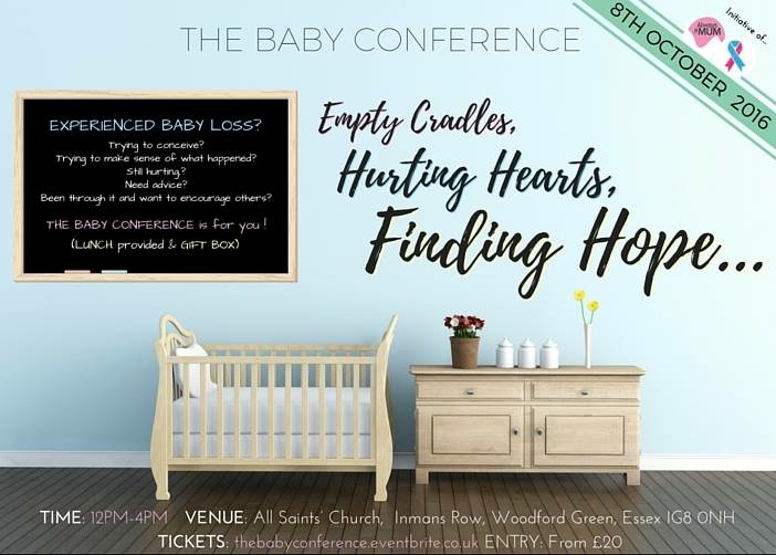 The baby conference flyer